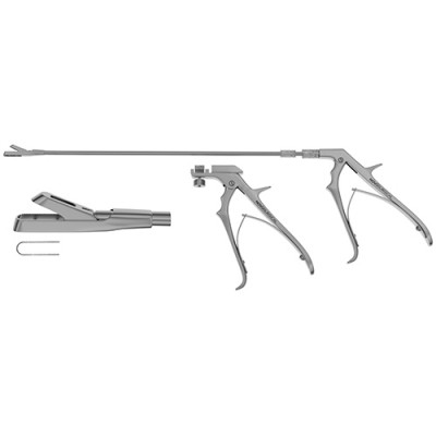 Yeoman Rotating Rectal Biopsy Forceps - Pistol Grip Handle