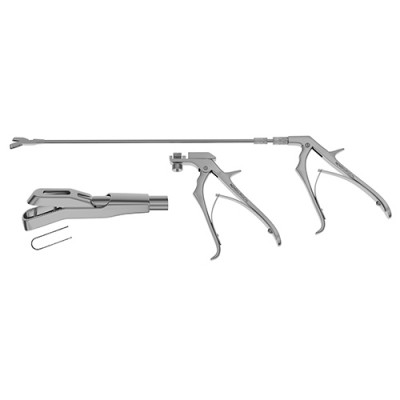 Turrell Rotating Rectal Biopsy Forceps - Pistol Grip Handle