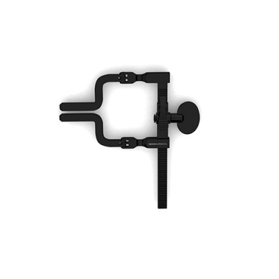 McCulloch Hinged Retractor Frame - Black Finish